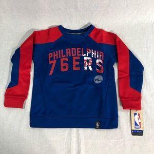 Philadelphia 76ers Sweatshirt Youth NBA Prime